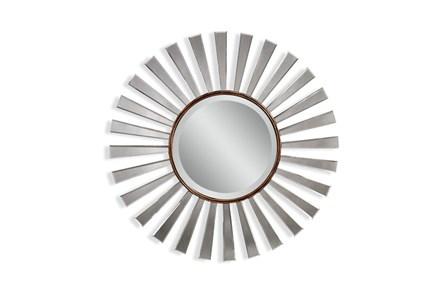 Mirror-Mirror And Gold Starburst 35X35
