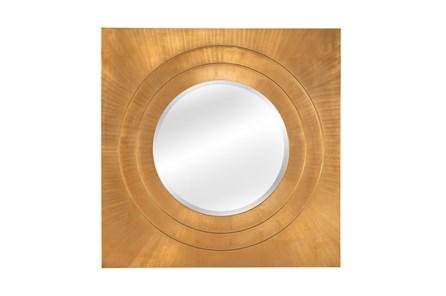 Mirror-Bright Gold Leaf Square 42X42