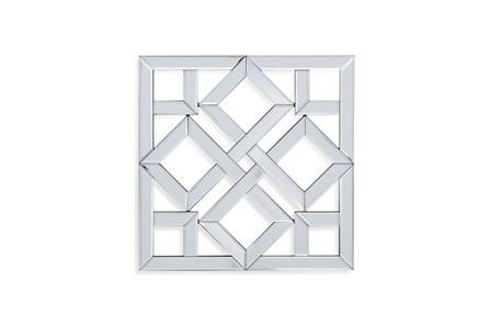 Mirror-Glass Diamond In Square 24X24