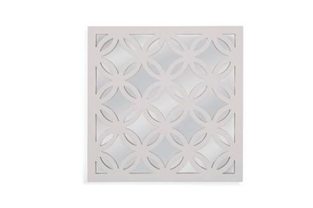Mirror-White Circles 20X20