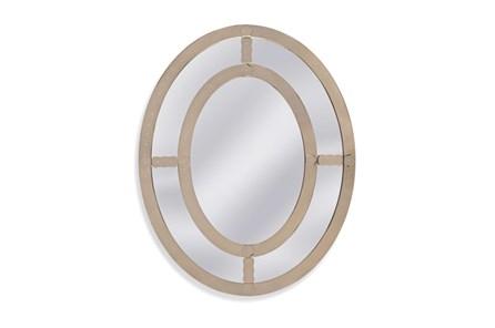 Mirror-Antique Mirror Oval 40X50