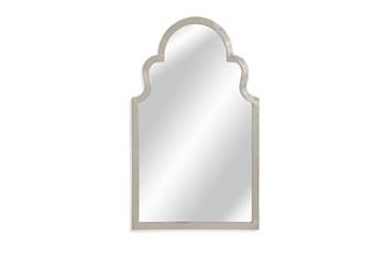 Mirror-Silver Leaf Arches 24X40