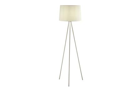 Floor Lamp-Spectra Nickel