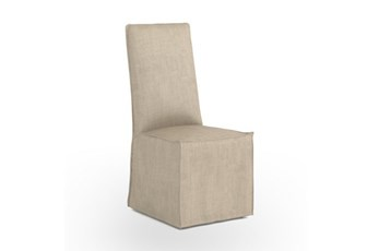 Natural Linen Dining Chair
