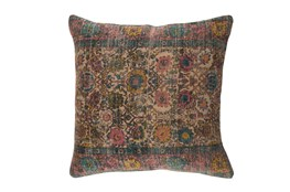 Accent Pillow-Henna Blue/Rose 18X18