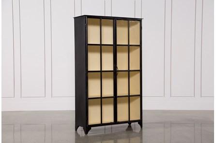 Vintage Tall Curio Cabinet