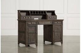 Valencia Counter Desk With Hutch
