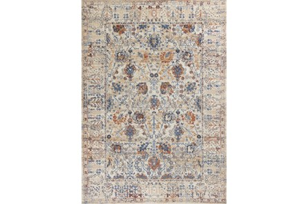 63X91 Rug-Rory Blue/Orange