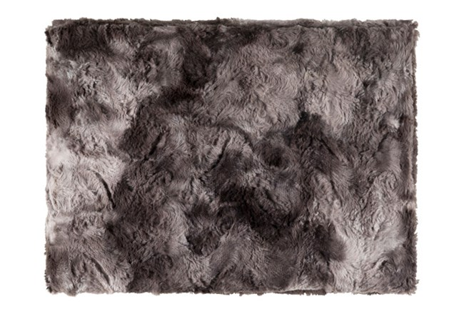 Accent Throw-Graphite Fur - 360