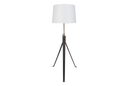 Floor Lamp-Metal Industrial Tripod