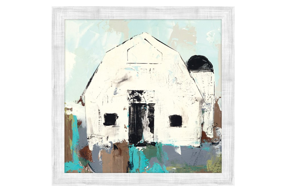 Picture-White Barn