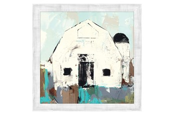 Picture-White Barn