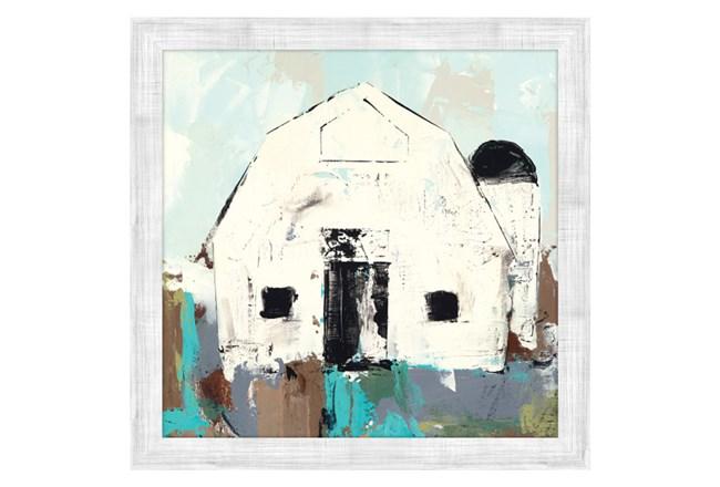 Picture-White Barn - 360