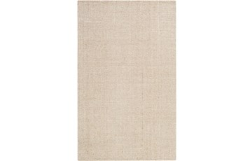 60X90 Rug-Berber Tufted Wool Khaki