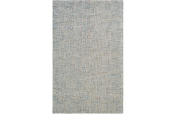 60X90 Rug-Berber Tufted Wool Denim