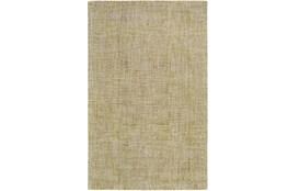60X90 Rug-Berber Tufted Wool Olive