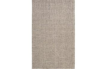 24X36 Rug-Berber Tufted Wool Gray