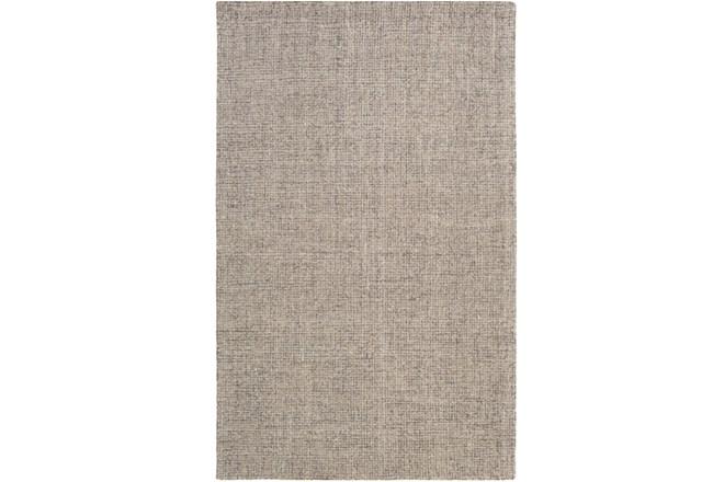 60X90 Rug-Berber Tufted Wool Gray - 360