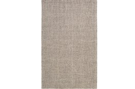 96X120 Rug-Berber Tufted Wool Gray