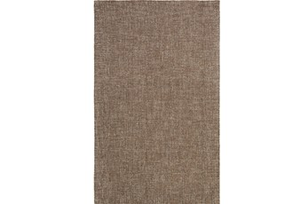 96X120 Rug-Berber Tufted Wool Brown