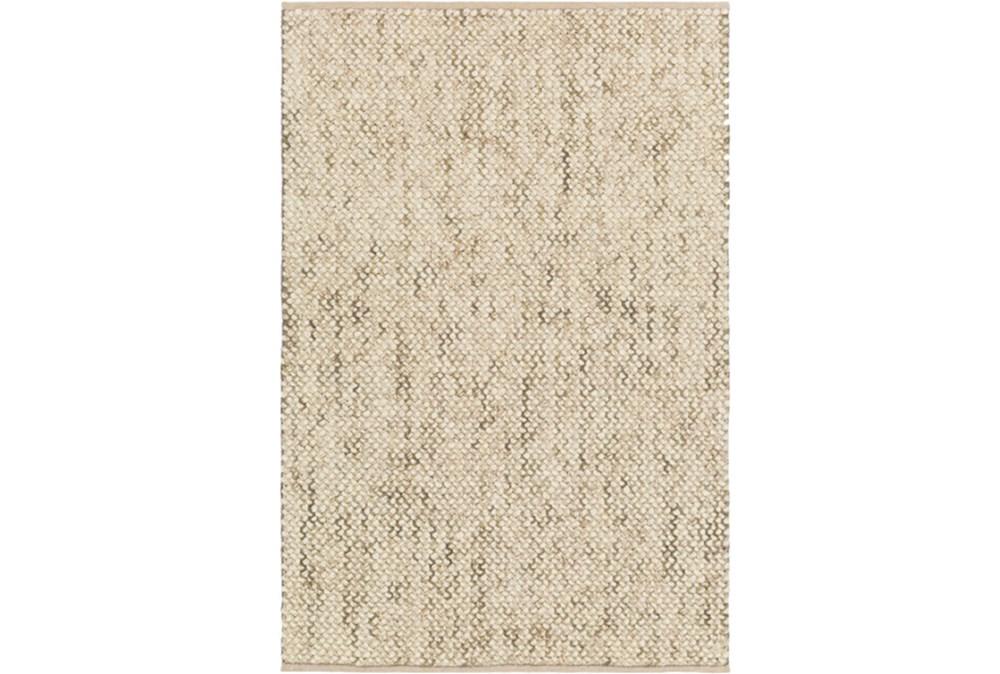 60X90 Rug-Cormac Woven Wool Olive/Cream