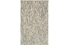 24X36 Rug-Cormac Woven Wool Blue