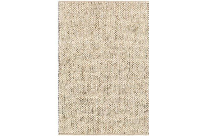 24X36 Rug-Cormac Woven Wool Taupe - 360