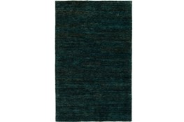 24X36 Rug-Neimon Hand Knotted Jute Dark Green