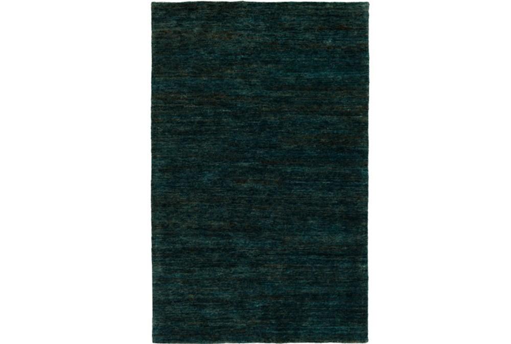 60X90 Rug-Neimon Hand Knotted Jute Dark Green