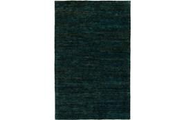96X120 Rug-Neimon Hand Knotted Jute Dark Green