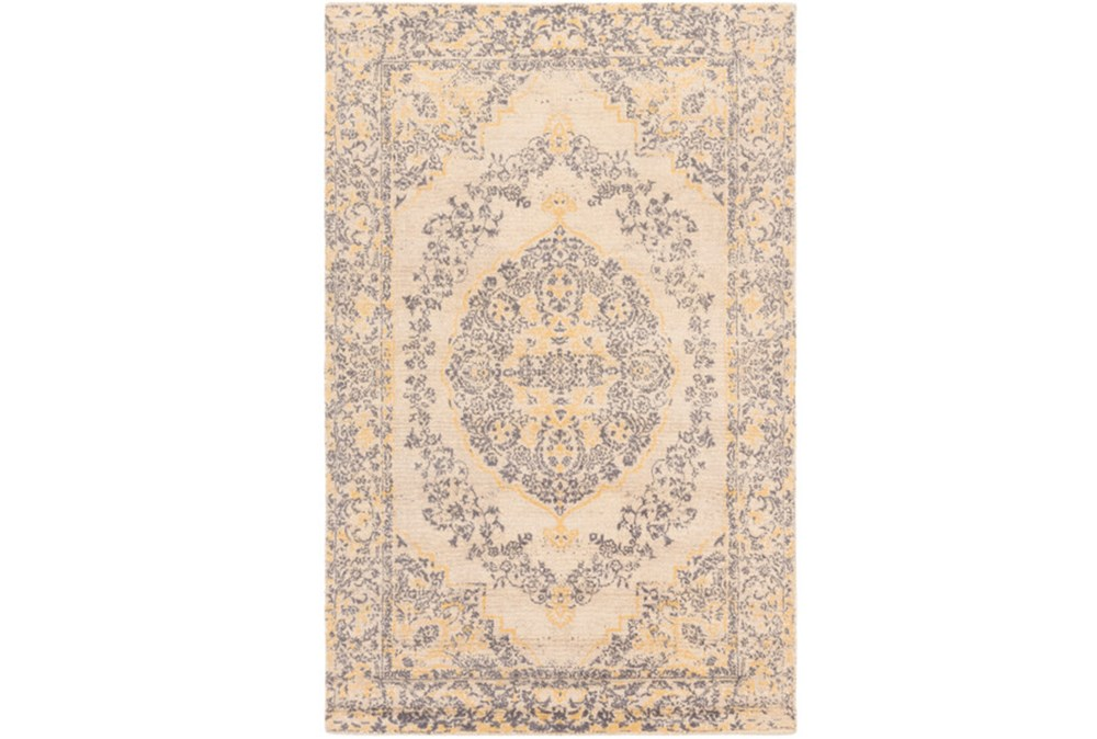 60X90 Rug-Ceire Light Blue/Yellow