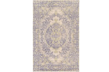 60X90 Rug-Ceire Denim/Lime