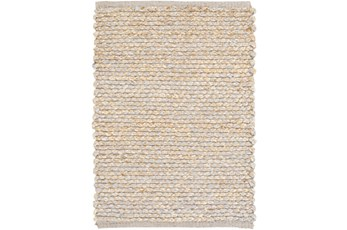 24X36 Rug-Woven Cotton And Seagrass Grey