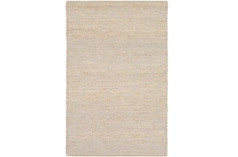 60X90 Rug-Woven Cotton And Seagrass Grey