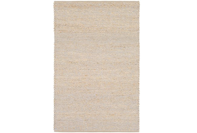 60X90 Rug-Woven Cotton And Seagrass Grey - 360