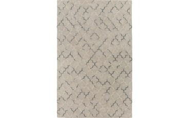 24X36 Rug-Faded Arabesque Blue/Grey