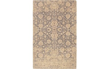 60X90 Rug-Nikita Antique Cream/Light Grey