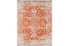 94X123 Rug-Ivete Antique Medallion Orange