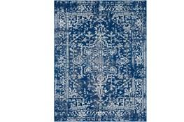 111X150 Rug-Ivete Dark Blue/Teal