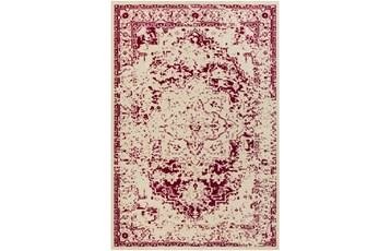 63X87 Rug-Khione Antique Raspberry