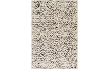 63X87 Rug-Khione Distressed Grey