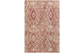 63X87 Rug-Khione Distressed Raspberry