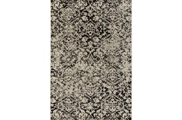 63X87 Rug-Nella Antique Traditional Charcoal