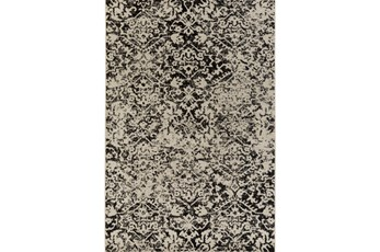 106X153 Rug-Nella Antique Traditional Charcoal