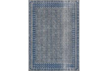 63X87 Rug-Amori Border Grey/Blue