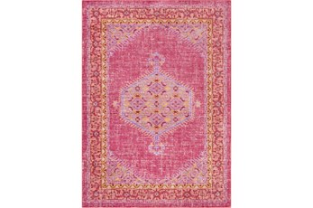 63X90 Rug-Mckenna Bright Pink/Orange