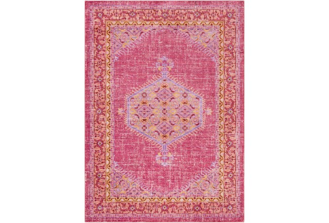 63X90 Rug-Mckenna Bright Pink/Orange - 360