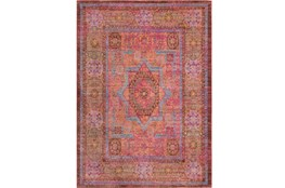 108X142 Rug-Gypsy Star Bright Pink