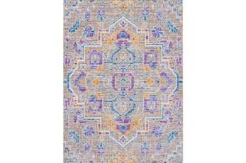 63X90 Rug-Gypsy Purple/Blue/Yellow