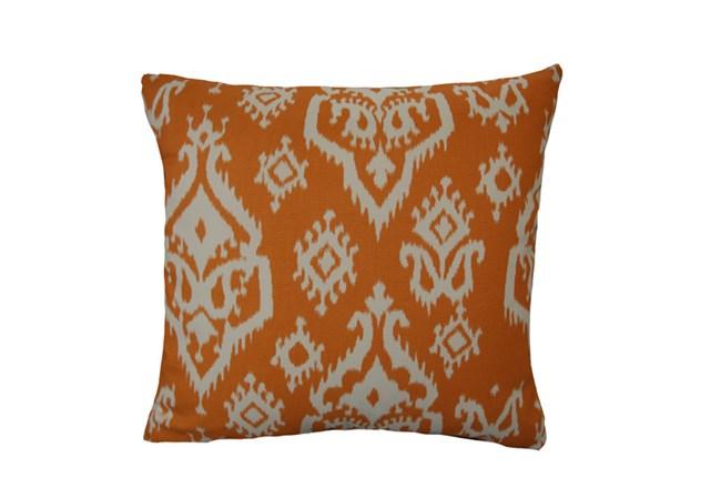Accent Pillow-Bay Ikat Orange 18X18 - 360